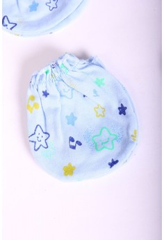 MITTENS STARBRIGHT BLUE (SET OF 6)