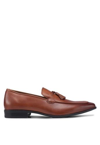 ALDO brown Padern Tassel Loafers 359D0SHCFAA651GS_1