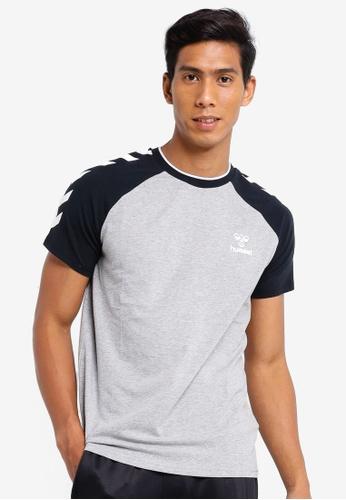 Hummel grey Hummel Mark Short Sleeve T-Shirt D5620AA9B4CECFGS_1