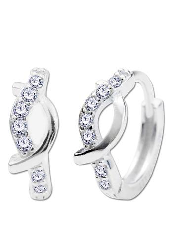 SC Tom Silver silver Clip Stone Earrings-ESL043 SC872AC01EKOPH_1