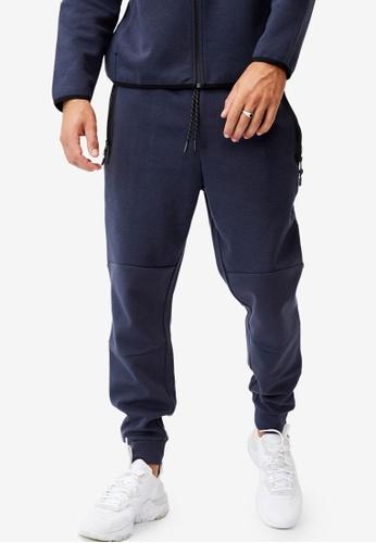 Cotton On blue Tech Track Pants ED21BAA96FDE48GS_1