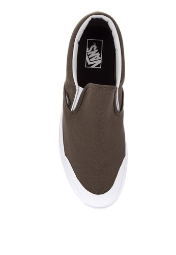 e474bf26bfd5 Shop VANS Canvas Classic Slip-On 138 Sneakers Online on ZALORA Philippines