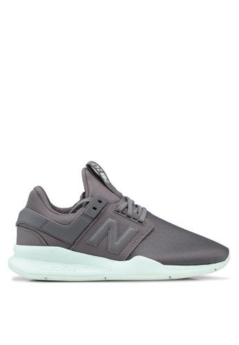New Balance pink 247 Lifestyle Haptic Metallic Shoes 5FCC8SHBD91299GS_1