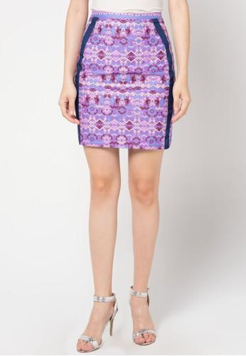 Bateeq purple Regular Skirt BA656AA63FYQID_1