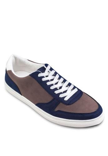 雙色拼接運動鞋, 鞋, 休閒zalora 衣服尺寸鞋