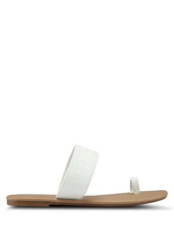 Rubi 白色 質感涼鞋 4472FSH4FACAEEGS_1
