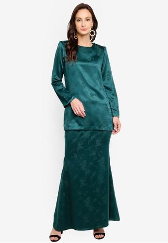 Butik Sireh Pinang green Kurung Moden Fiona D4DDEAA3832D0BGS_1