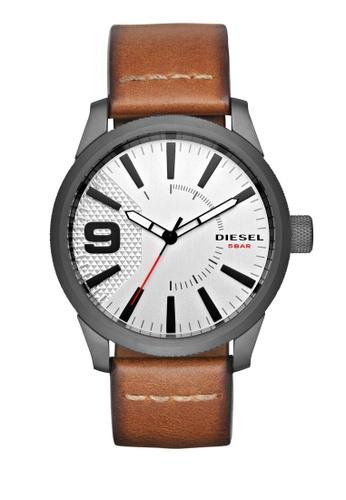 Diesel brown Rasp Series Analog Watch DI095AC0K946PH_1