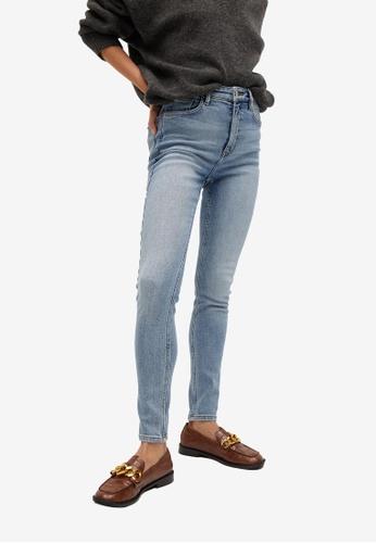 Mango blue High Waist Soho Skinny Jeans CB3E1AAC3575C3GS_1