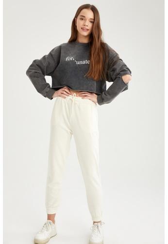 DeFacto beige Woman Knitted Trouser 81F7BAAF55E25EGS_1