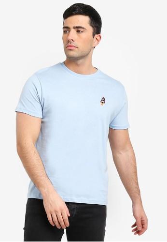 Brave Soul blue Rocket Embellished T-Shirt C00BCAAFFEB553GS_1