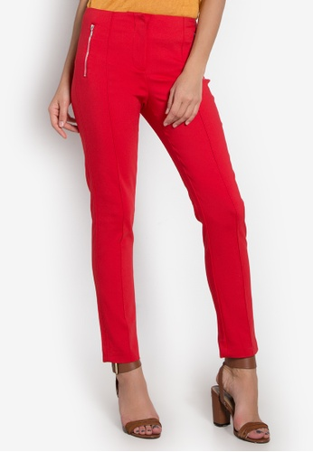 Cortefiel red 2.3.T.Bs. Pant Basico Cremalle Pants CO203AA0KGO3PH_1