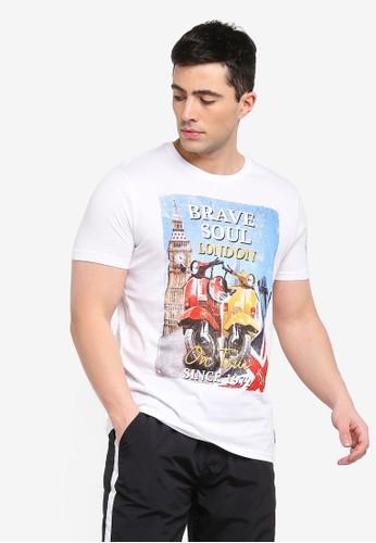 Brave Soul white Retta T-Shirt 46209AA2D58144GS_1