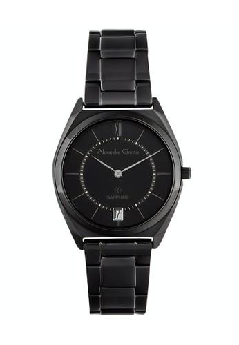 Alexandre Christie black Alexandre Christie Jam Tangan Wanita - Black - Stainless Steel - 8550 LDBIPBA B15DFACC7C51AAGS_1