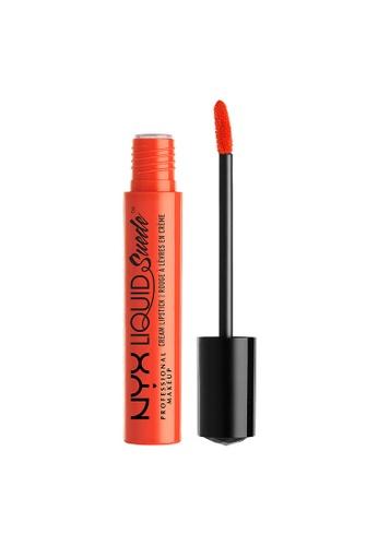 NYX Professional Makeup orange NYX Professional Makeup Liquid Suede Cream Lipstick - ORANGE COUNTY 3853EBE17CC69EGS_1