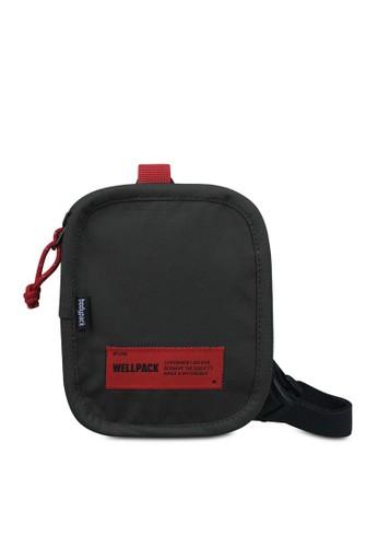 Bodypack black Bodypack Sturdy Wallet - Black 379ABACB63E40BGS_1