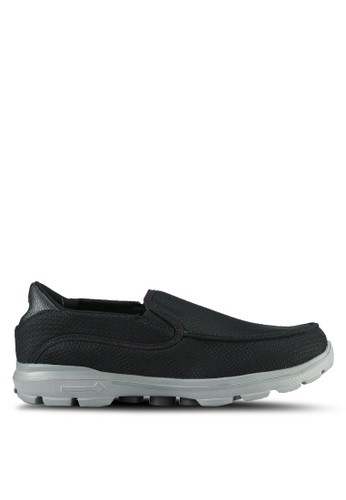 UniqTee black Lighweight Slip-On Sport Sneakers UN097SH0S21GMY_1