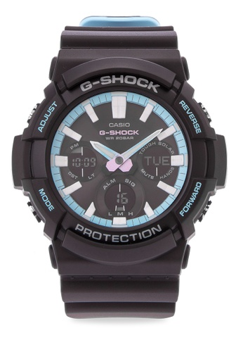 Casio black G-Shock Digital Analog Gas-100pc-1a Watch CA076AC0KFNSPH_1