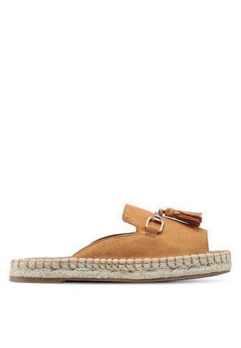 River Island brown Espadrille Sandals 4B228SH57B980BGS_1