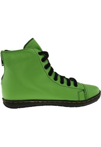 Maxstar green Maxstar Women's 202 Back Zipper Hidden Heel PU Ankle Boots US Women Size MA164SH90QRTSG_1