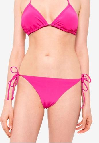 Billabong pink Sol Searcher Tropic Bikini Bottom 52480AA5C3A9D3GS_1