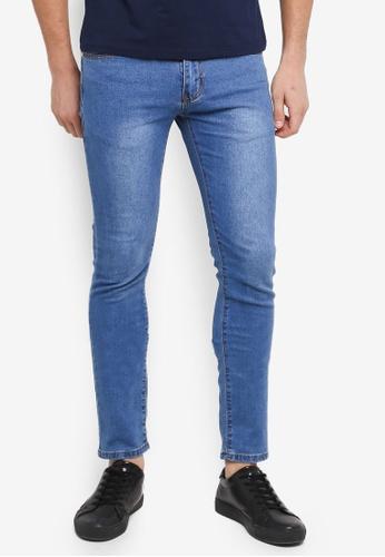 Fidelio 藍色 緊身窄管牛仔褲 26420AA1A89E17GS_1
