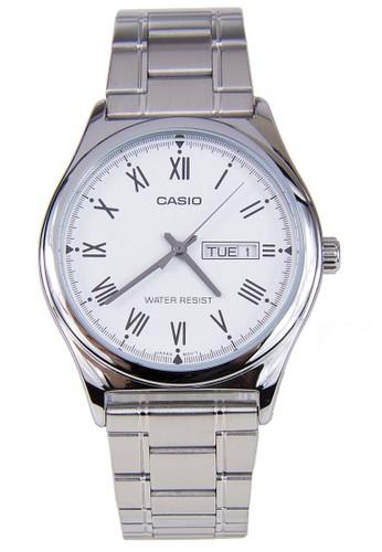 Casio silver Casio Jam Tangan MTP-V006D-7BUDF Silver 36118ACB27FFD5GS_1