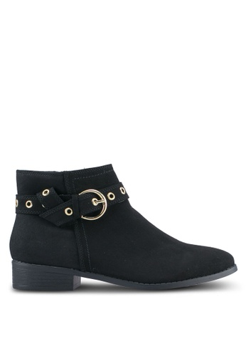 Dorothy Perkins black Black 'Alfie' Ankle Boots DO816SH0T068MY_1