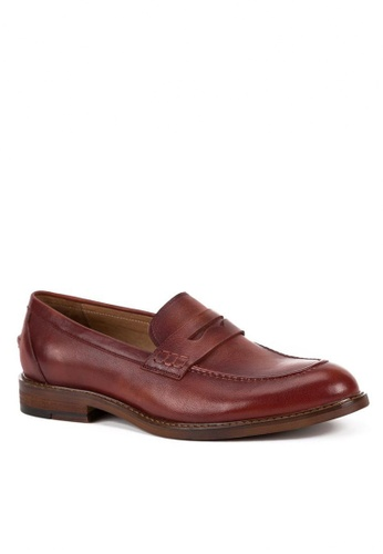 Twenty Eight Shoes Cristoforo Vintage Leather Loafers BL265-10 481FASH009E7CCGS_1