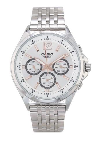 Casio silver Casio MTP-E303D-7AVDF Watch CC4AFAC5B74D5CGS_1