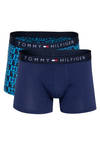 Tommy Hilfiger blue Two Pack Trunks AA133USA1B9819GS_1
