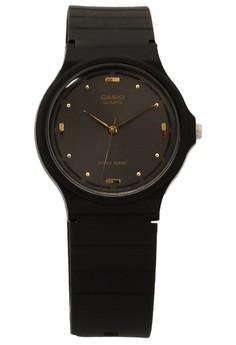 Black Analog Watch MQ-76-1ALDF_V&V