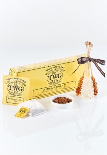 TWG Tea Banish Monday Blues Teabag Kit (Crème Caramel Tea) 705F4ES16DCA4AGS_1