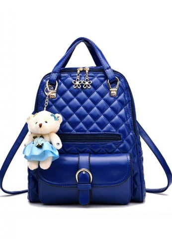 TCWK blue Ladies Backpack TC258AC86FQBMY_1