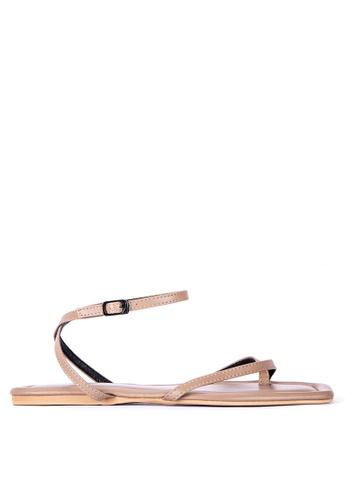 Primadonna brown Strappy Sandals D23FASHB0F8242GS_1
