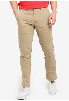 GAP beige Slim Stretch Khaki Pants 00CEBAA2830925GS_1