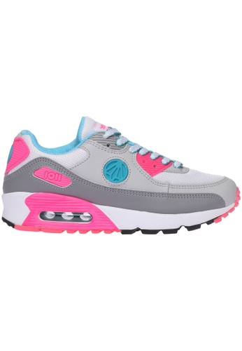 paperplanes grey Paperplanes-1101 Fashion Colorful Air Cushion Trendy Sneakers Shoes US Women Size PA355SH00PEXSG_1