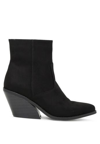 London Rag 黑色 黑色拉链踝靴 SH1751 D91F2SH65B81BDGS_1