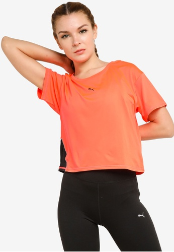 Puma orange COOLadapt Women's Running Tee 2835DAA850450FGS_1