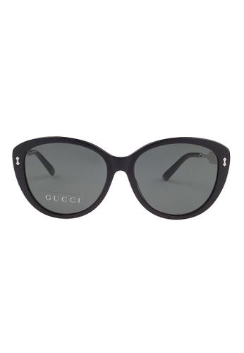 Gucci black GUCCI Women Sunglasses 3839/FS CSAR6 GU112AC68OVBMY_1