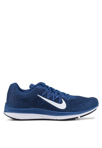 Nike blue Nike Air Zoom Winflo 5 Shoes 8FDC4SHC47CE2AGS_1