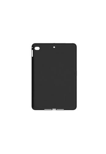 MobileHub black iPad Mini 5 (2019) 5TH GEN. Silicone Cover Soft Case Rubberized Finish 2C213AC90009CAGS_1