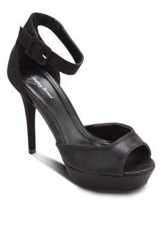 Platform Peephole Sandal Heel