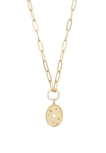 Wanderlust + Co gold Stargazer Gold Necklace 65CBCAC69E2262GS_1