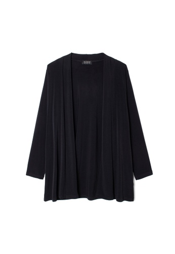 MS. READ black MS. READ Essential Cardigan (BLACK) 175DEAAD32D67BGS_1