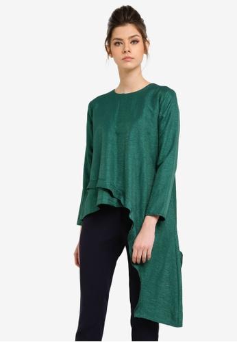 KREE green Alicia Top KR967AA0RZ5QMY_1