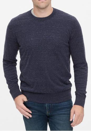 Gap navy Crewneck Sweater E30E4AAF3704F1GS_1