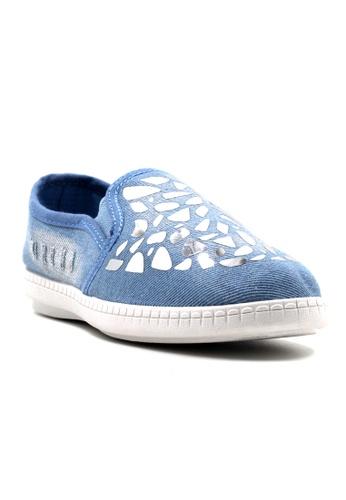 New York Sneakers blue Anj Slip On Shoes NE675SH30PMBPH_1