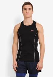 2GO black Racerback Vest 2G729AA0S604MY_1