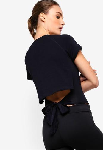 Cotton On Body black Knotted Hem T-Shirt B390FAA6CA773FGS_1